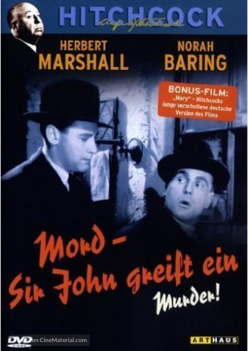 Mary - German DVD movie cover