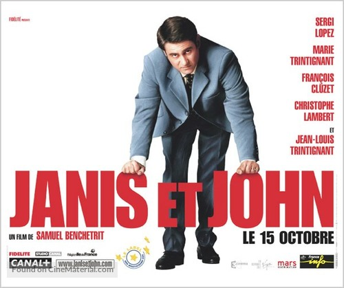 Janis Et John - French Movie Poster