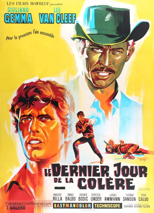 I giorni dell'ira - French Movie Poster