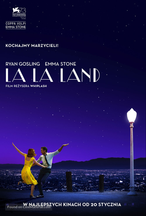 La La Land - Polish Movie Poster