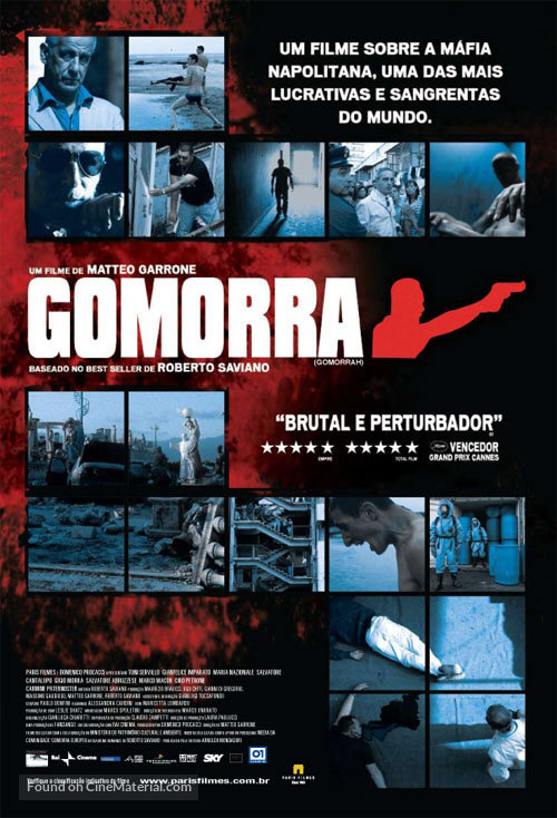 Gomorra - Brazilian Movie Poster