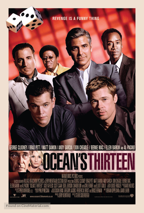 Ocean's Thirteen - British Movie Poster