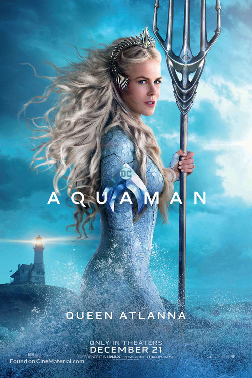 Aquaman - Character movie poster
