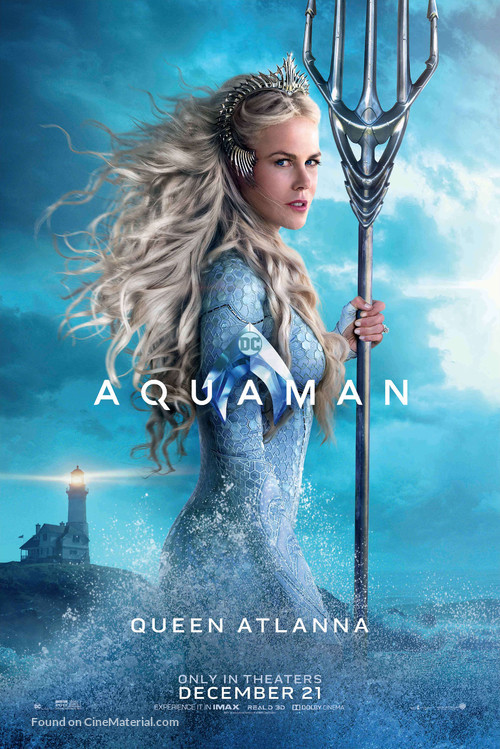 Aquaman - Character poster