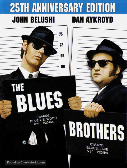 The Blues Brothers - Movie Cover