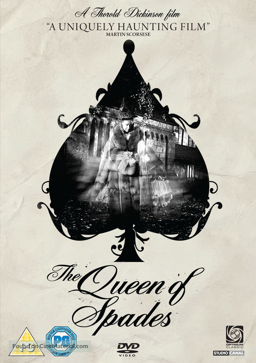 The Queen of Spades - British Movie Cover