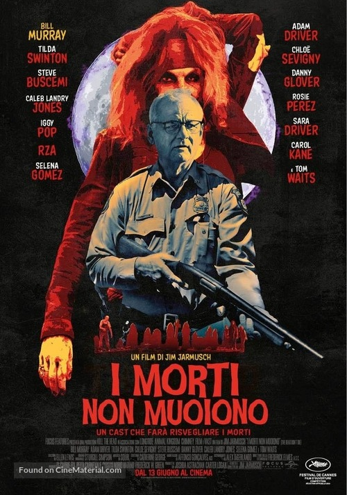 The Dead Don't Die - Italian Movie Poster