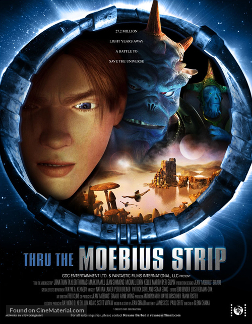 Thru the Moebius Strip - poster