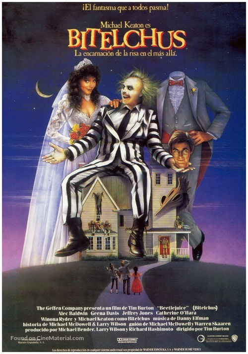 Beetle Juice - Spanish Movie Poster