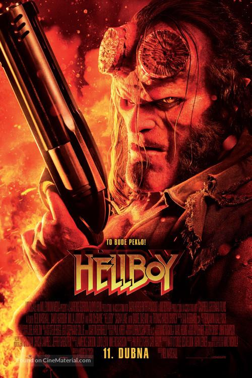 Hellboy - Czech Movie Poster