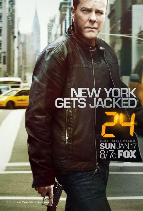"""24"" - Movie Poster"