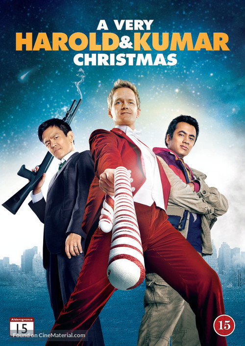 A Very Harold & Kumar Christmas - Danish DVD cover