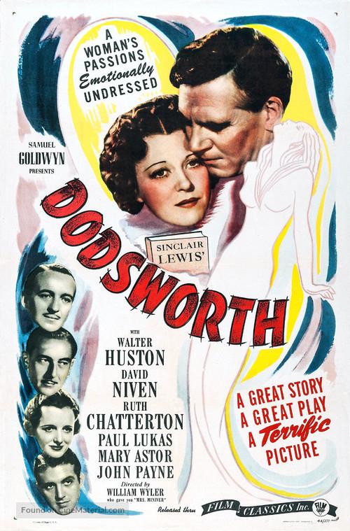 Dodsworth - Movie Poster