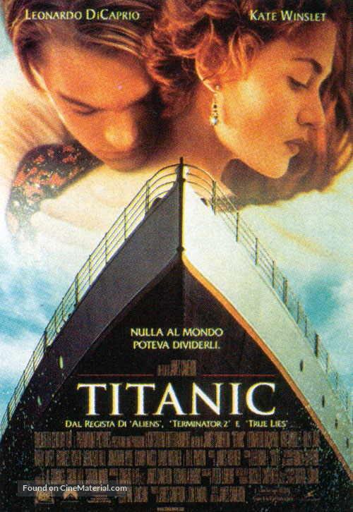 Titanic - Italian Movie Poster
