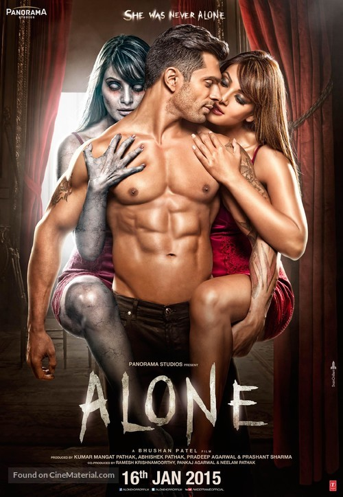 Alone - Indian Theatrical movie poster