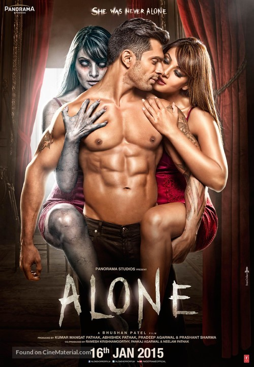 Alone - Indian Theatrical poster