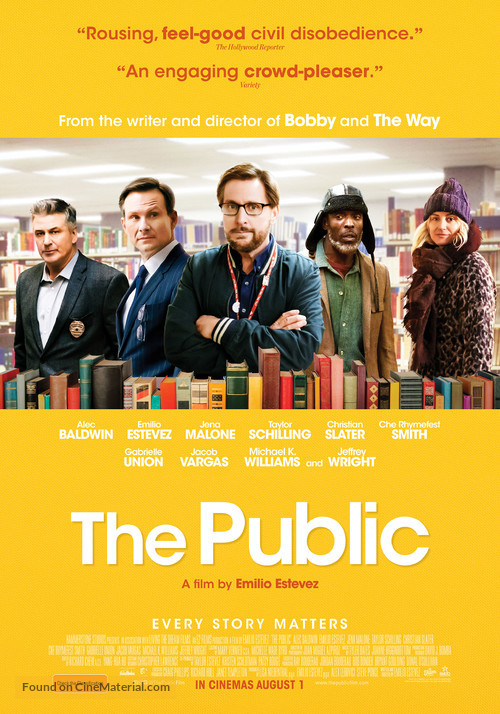 Image result for the public movie poster