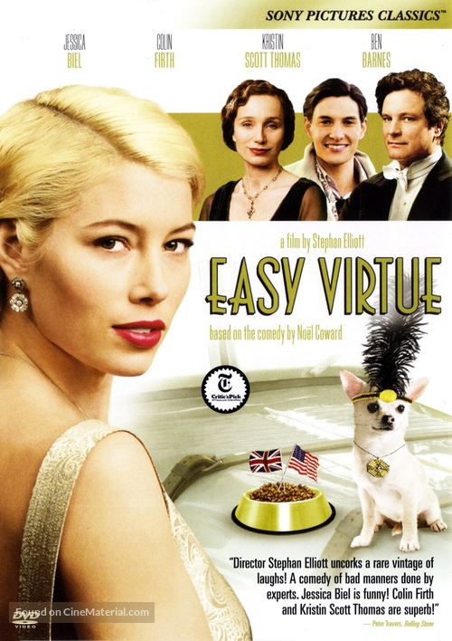 Easy Virtue - DVD cover