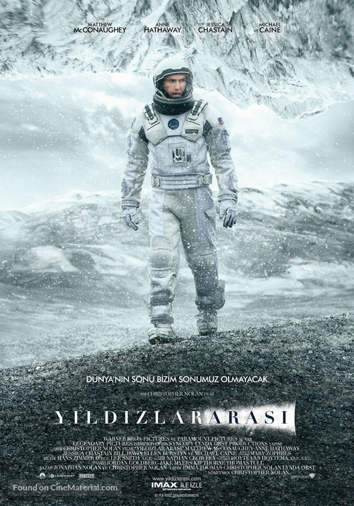 Interstellar - Turkish Movie Poster