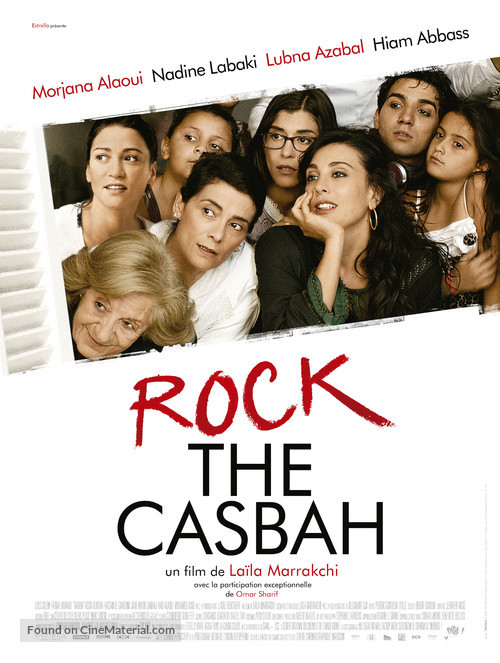 Rock the Casbah - French Movie Poster