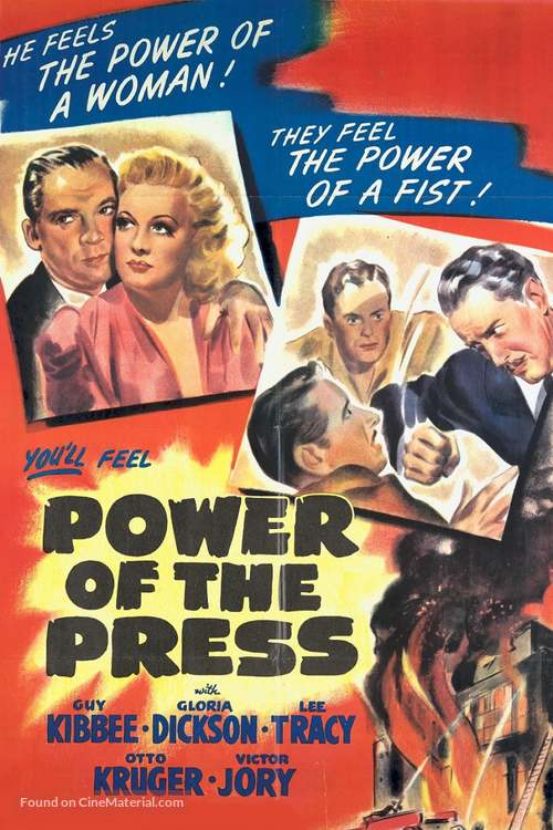 Power of the Press - Movie Poster