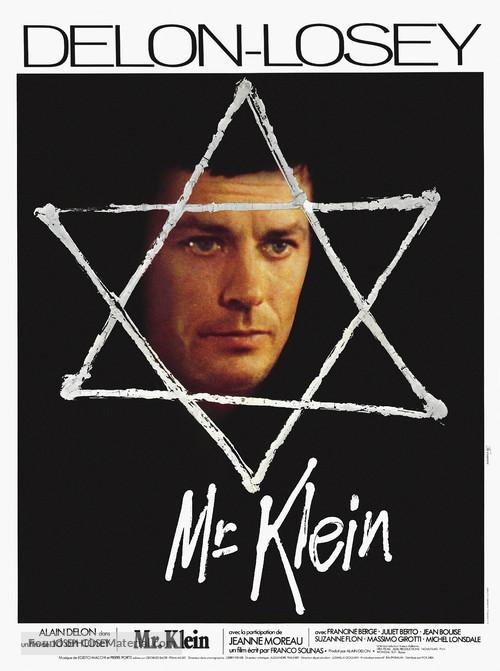 Monsieur Klein - French Movie Poster