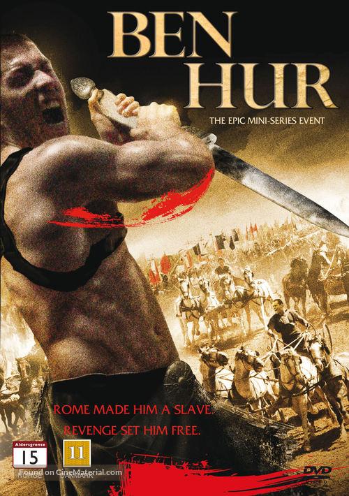 """Ben Hur"" - Danish DVD movie cover"