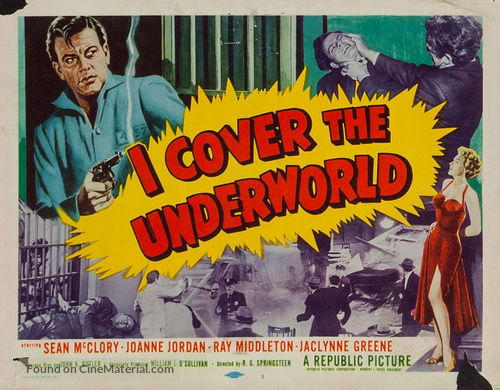 I Cover the Underworld - Movie Poster