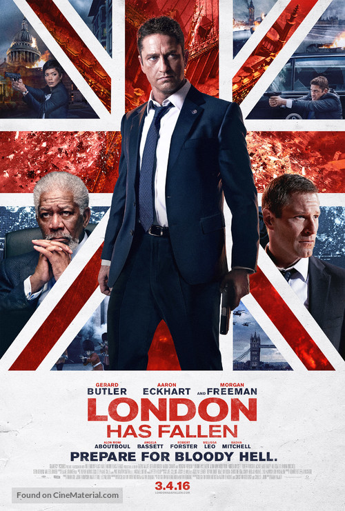 London Has Fallen - Movie Poster