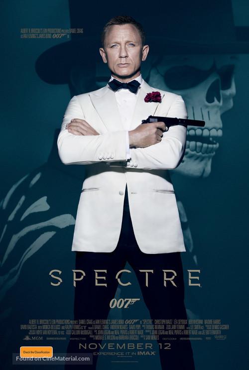 Spectre - Australian Movie Poster