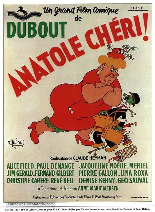 Anatole chèri - French Movie Poster
