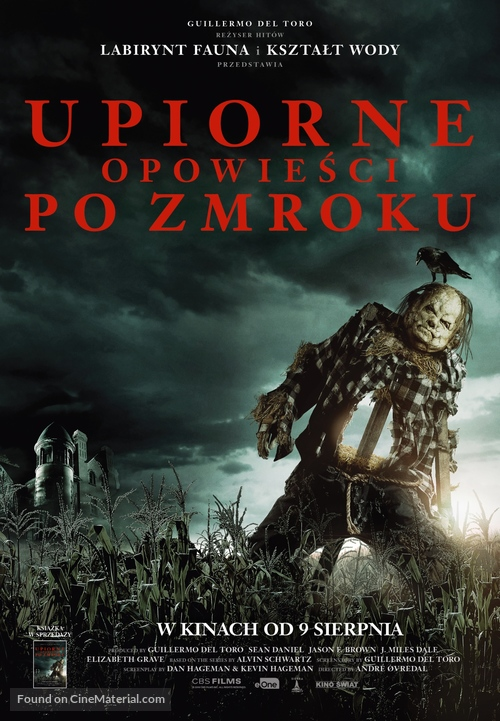 Scary Stories to Tell in the Dark - Polish Movie Poster