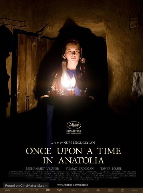 Bir zamanlar Anadolu'da - British Movie Poster