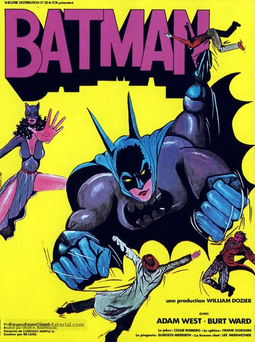 Batman - French Movie Poster