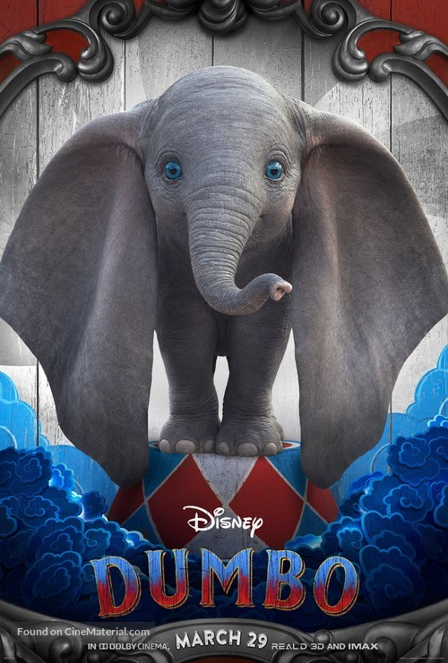 Dumbo - Character poster
