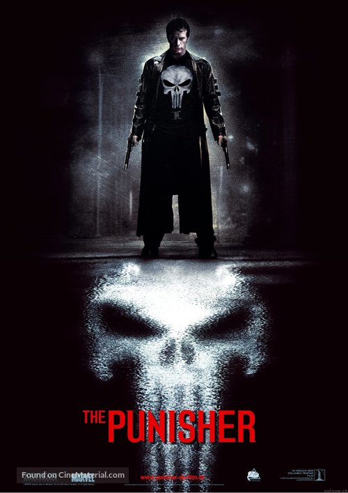 The Punisher - German Movie Poster