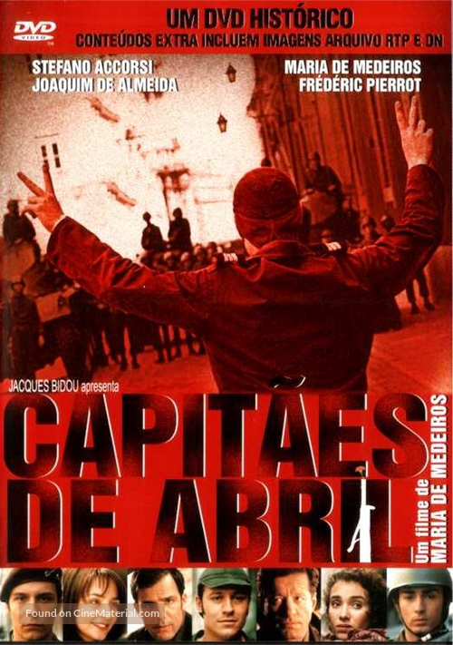 Capitães de Abril - Portuguese DVD cover