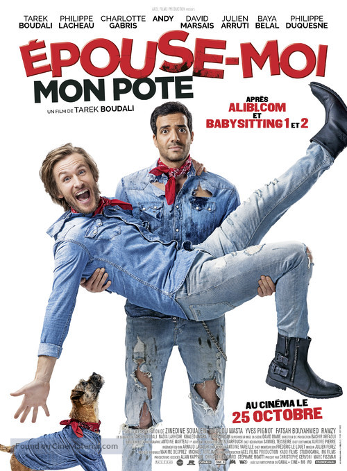 Épouse moi mon pote - French Movie Poster