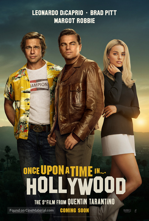 Once Upon a Time in Hollywood - Movie Poster
