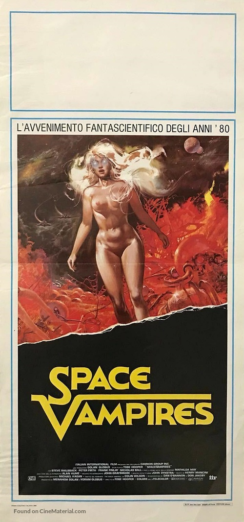Lifeforce - Italian Movie Poster