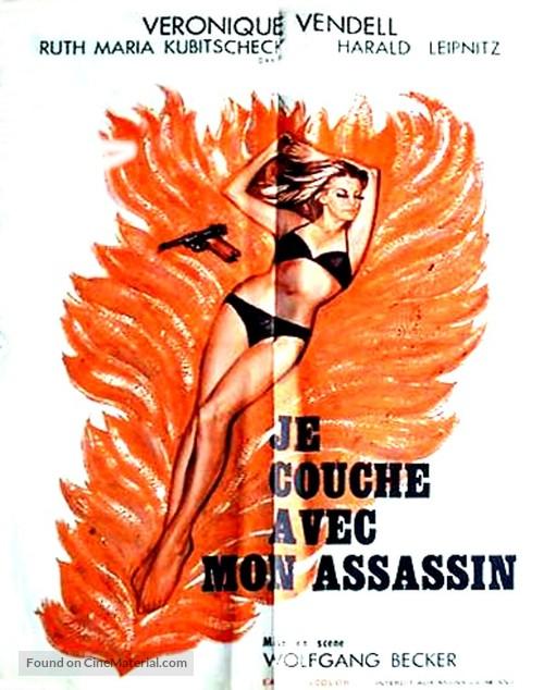 Ich schlafe mit meinem Mörder - French Movie Poster