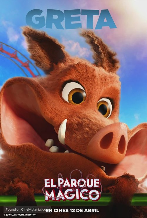 Wonder Park - Spanish Movie Poster