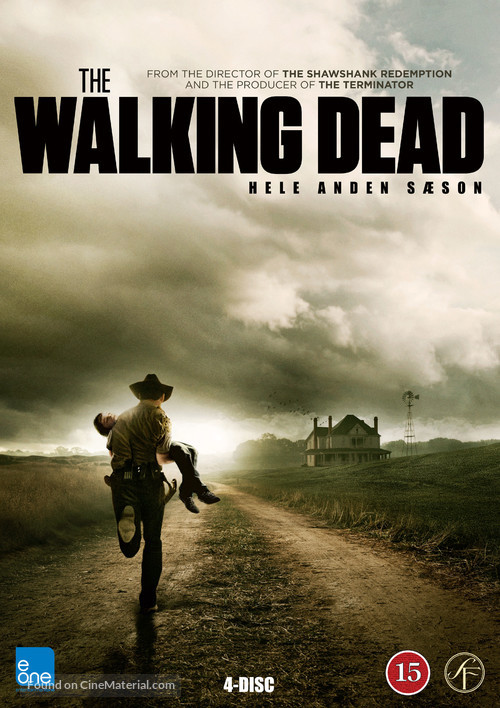 """The Walking Dead"" - Danish DVD cover"