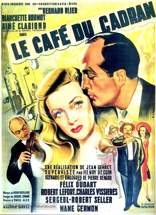 Le café du cadran - French Movie Poster