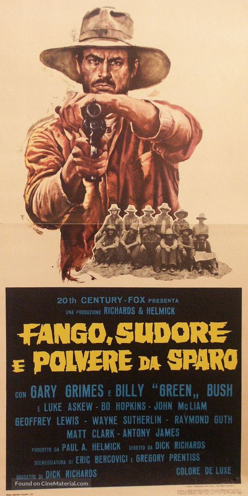 The Culpepper Cattle Co. - Italian Movie Poster