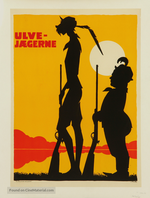 Ulvejægerne - Danish Movie Poster
