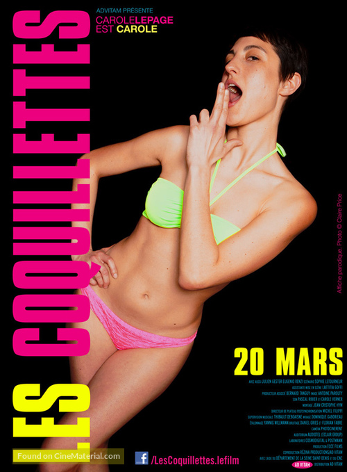 Les coquillettes - French Movie Poster