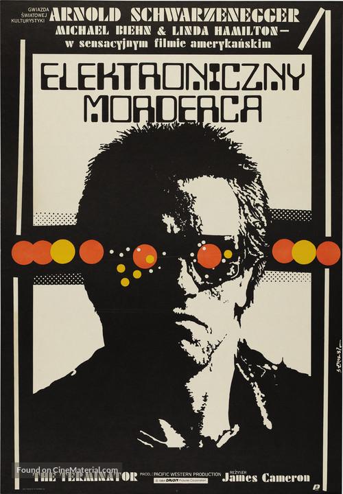 The Terminator - Polish Movie Poster