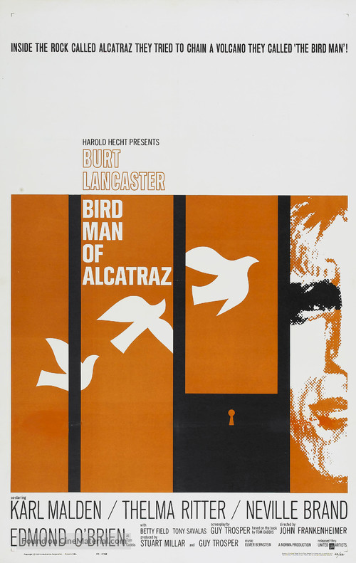 Birdman of Alcatraz - Movie Poster