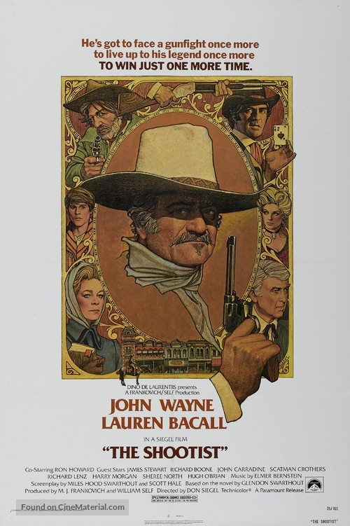 The Shootist - Movie Poster